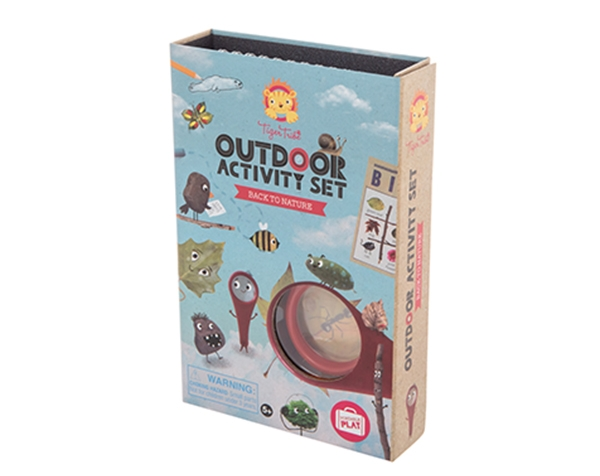 Outdoor Activity Set Back to Nature (Solo disponible en Inglés) de Tiger Tribe