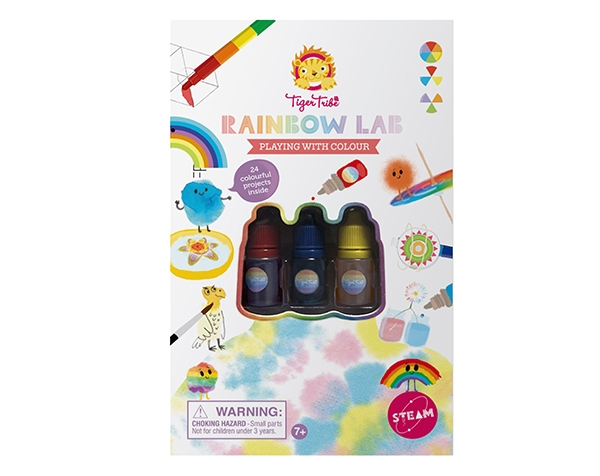 Rainbow Lab Playing with Colour (Solo disponible en Inglés) de Tiger Tribe