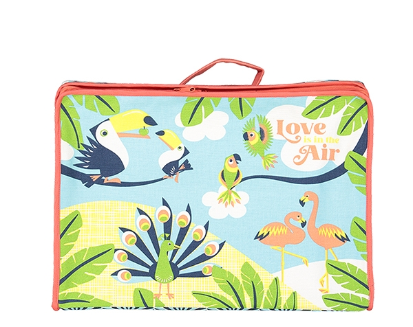 LIITA Love is in the air Suitcase de Coqenpâte Primavera Verano 2021