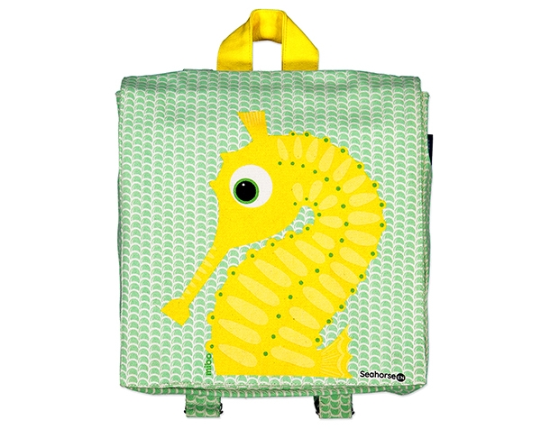 KLO Sea Horse Green Apple Backpack de Coqenpâte Primavera Verano 2021