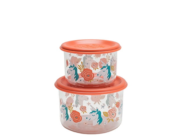 Unicorn Good Lunch Snack Containers (Set of 2) de Sugarbooger