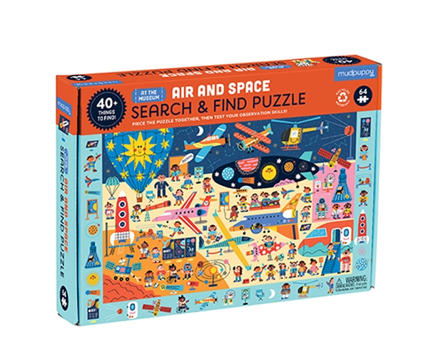 Search & Find Puzzle Air and Space Museum de Mudpuppy