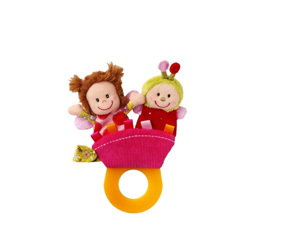 Liz teething rattle de Lilliputiens Ofertas