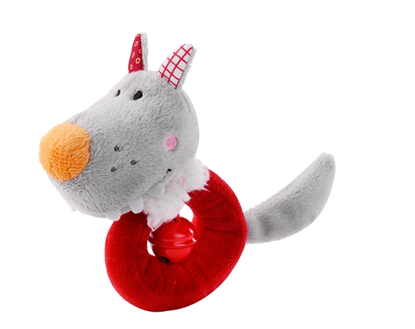 Nicolas mini rattle with bell  de Lilliputiens Ofertas