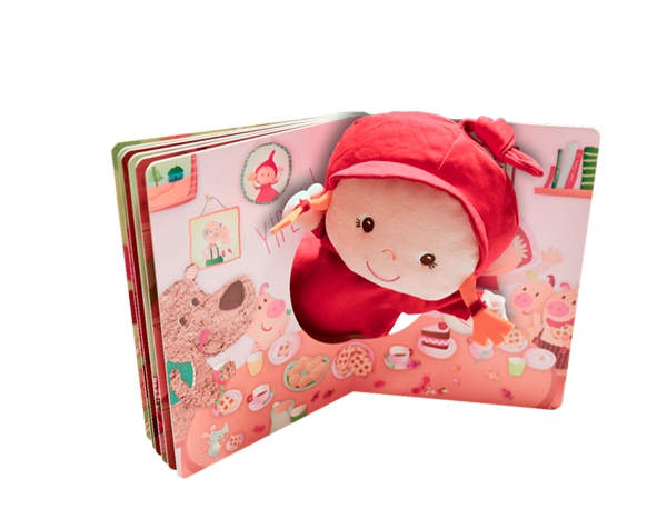 Where is Granny? Cardboard book with red riding hood hand puppet de Lilliputiens Ofertas
