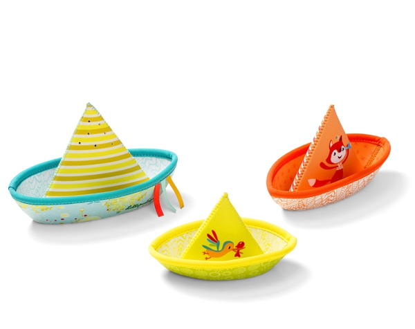 3 Little Boats de Lilliputiens